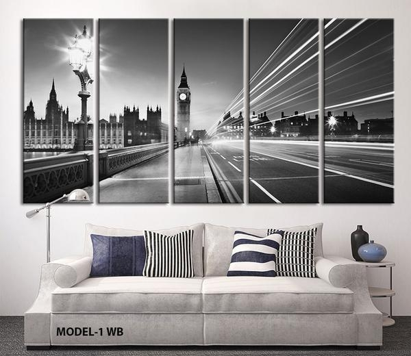40 Charming London Wall Art | Panfan Site Throughout Canvas Wall Art Of London (Photo 17 of 20)