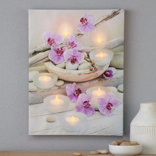 40 Shining Ideas Orchid Wall Art | Panfan Site Throughout Orchid Canvas Wall Art (View 9 of 20)