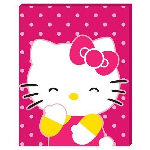 44 Best Hello Kitty Images On Pinterest | Hello Kitty Stuff, Hello Inside Hello Kitty Canvas Wall Art (Photo 13 of 20)