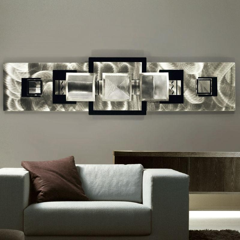 5 Gorgeous Metal Wall Art Ideas » Room Decorating Ideas Regarding Abstract Living Room Wall Art (Image 3 of 20)