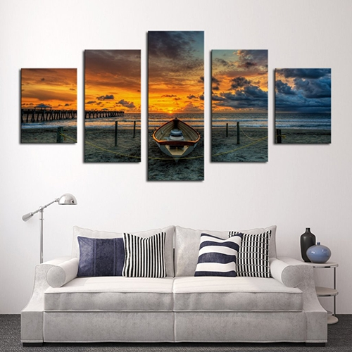 5 Piece Split Canvas – The Print Shop Pertaining To Johannesburg Canvas Wall Art (View 15 of 20)