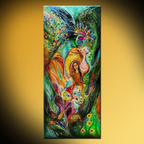 50 Best Jewish Art Images On Pinterest | Jewish Art, Original Pertaining To Jewish Canvas Wall Art (Image 5 of 20)