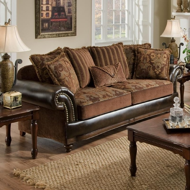 53 Best Sofa Styles I Love Images On Pinterest | Leather Couches For Leather And Cloth Sofas (Image 1 of 10)