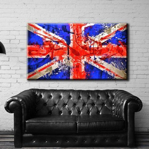 54 Best Canvas Print Artwork Stretched Gallery Wrapped Wall Art Regarding Union Jack Canvas Wall Art (View 8 of 20)