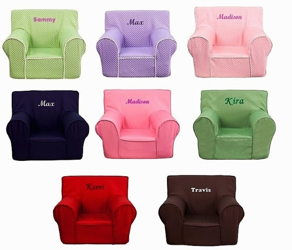 54 Personalized Kids Chairs Sofas, Childs Table Chair Set Within Personalized Kids Chairs And Sofas (Image 3 of 10)
