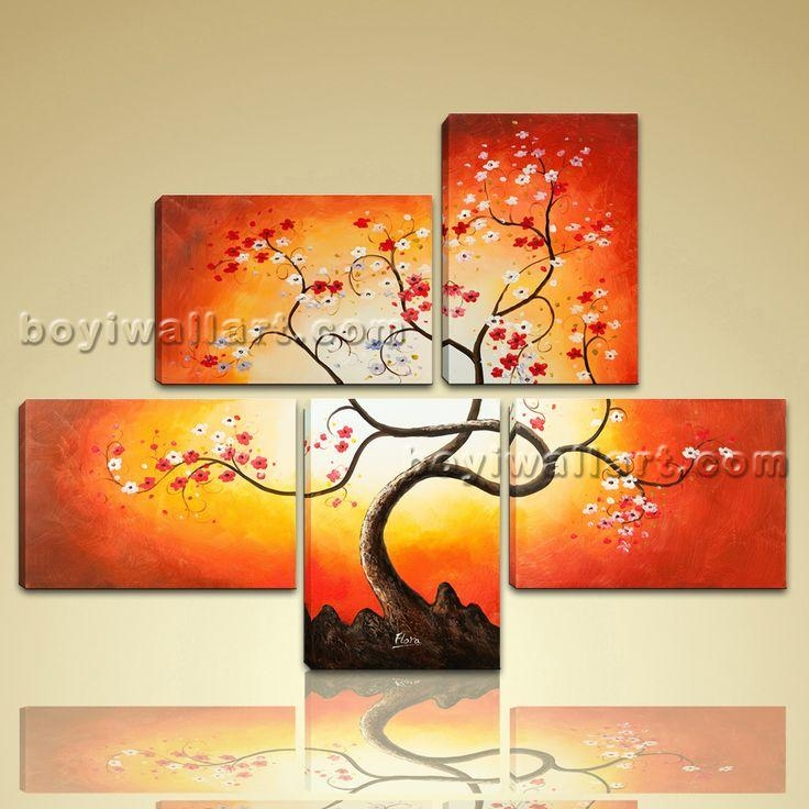 60 Best Large Size Hd Giclee Stretched Canvas Print Of Our Throughout Abstract Floral Canvas Wall Art (Image 4 of 20)