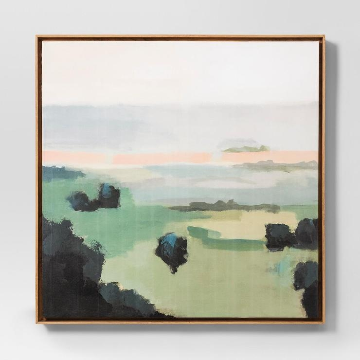 62 Pastel Landscape Abstract Wall Art Within Pastel Abstract Wall Art (Photo 9 of 20)