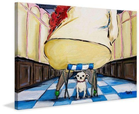 66 Best Dogs Art Images On Pinterest | Dog Art, Painting Prints Regarding Howard Stern Canvas Wall Art (Image 1 of 20)