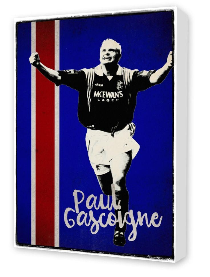67 Best Rangers Images On Pinterest | Canvas Prints, Glasgow Pertaining To Glasgow Canvas Wall Art (Image 2 of 20)