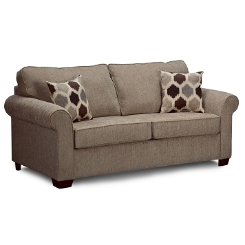 68 Wide, 38 High, 38 Deep  $424 Downey Upholstery Full Sleeper Sofa Regarding Wide Sofa Chairs (Image 1 of 10)