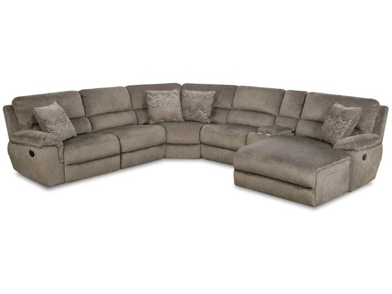 6Pc Power Sectionalcorinthian Within Little Rock Ar Sectional Sofas (Photo 10 of 10)