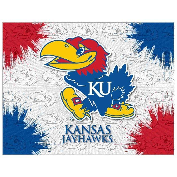 7 Best Jayhawks Images On Pinterest | Kansas Jayhawks, Beauty With Regard To Ku Canvas Wall Art (Image 2 of 20)
