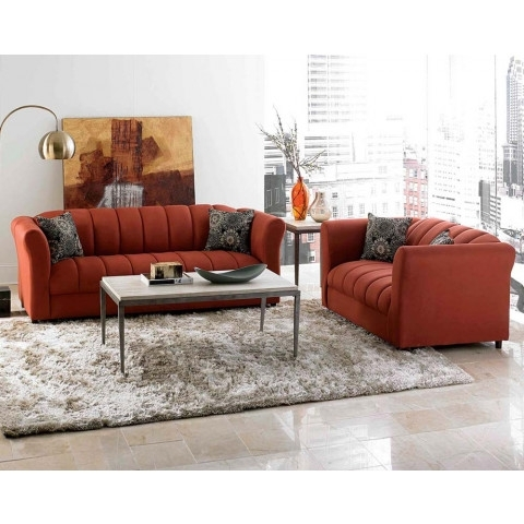 7 Piece Living Room Furniture Package | American Freight Inside Huntsville Al Sectional Sofas (Image 1 of 10)