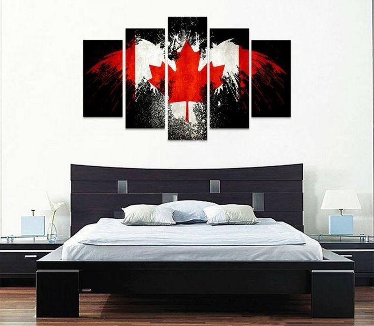 73 Best Sporty Wall Art Decor Images On Pinterest | Painted Canvas Regarding Canvas Wall Art In Canada (Image 3 of 20)