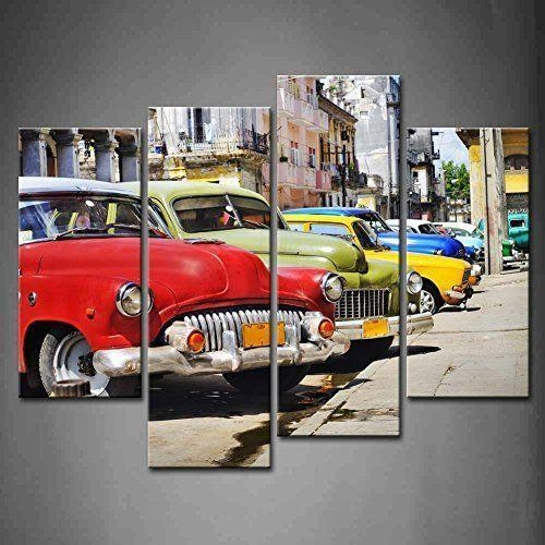 738 Best Ebay – Canvas Wall Decor Images On Pinterest | Canvas Inside Cars Theme Canvas Wall Art (Image 3 of 20)