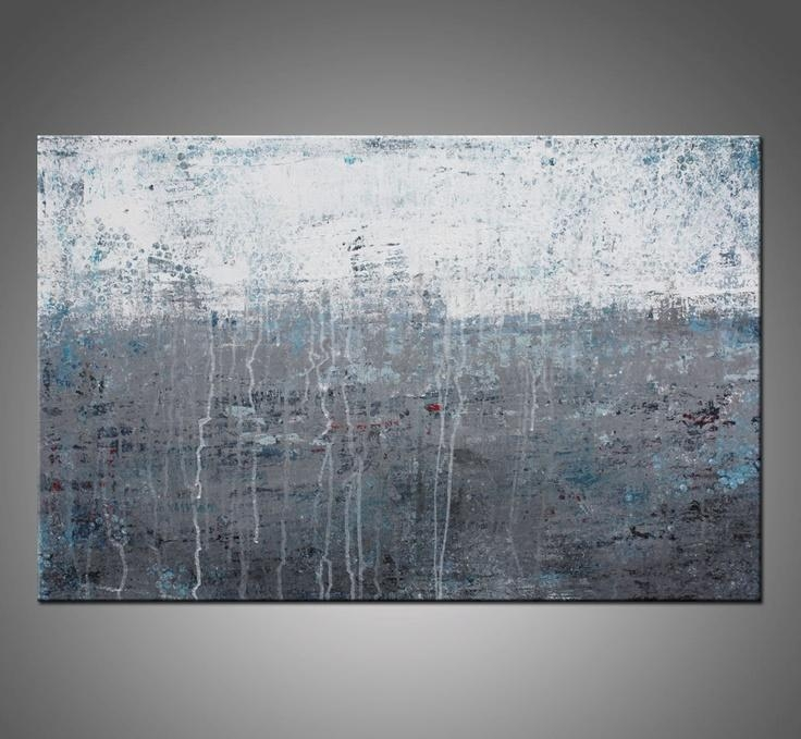 78 Best Art Images On Pinterest | Paintings, Scenery And Painting Art Within Grey Abstract Canvas Wall Art (Image 1 of 20)