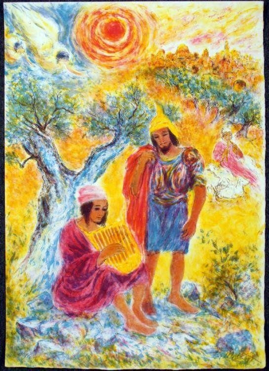 78 Best Shulamit (Song Of Songs) Images On Pinterest | Jewish Art With Jewish Canvas Wall Art (Photo 8 of 20)