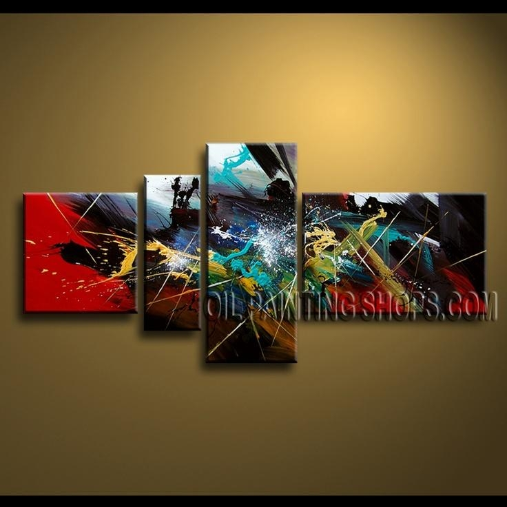 82 Best Abstract Paintings – Series Ii Images On Pinterest For Modern Abstract Oil Painting Wall Art (View 11 of 20)
