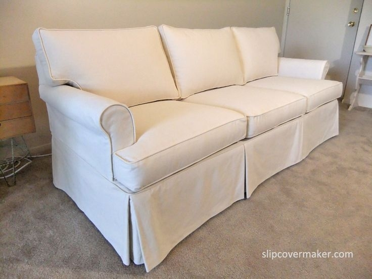 9 Best Sherry's Sofa & Chair Slipcovers Images On Pinterest | Ethan Within Slipcovers Sofas (Photo 2 of 10)