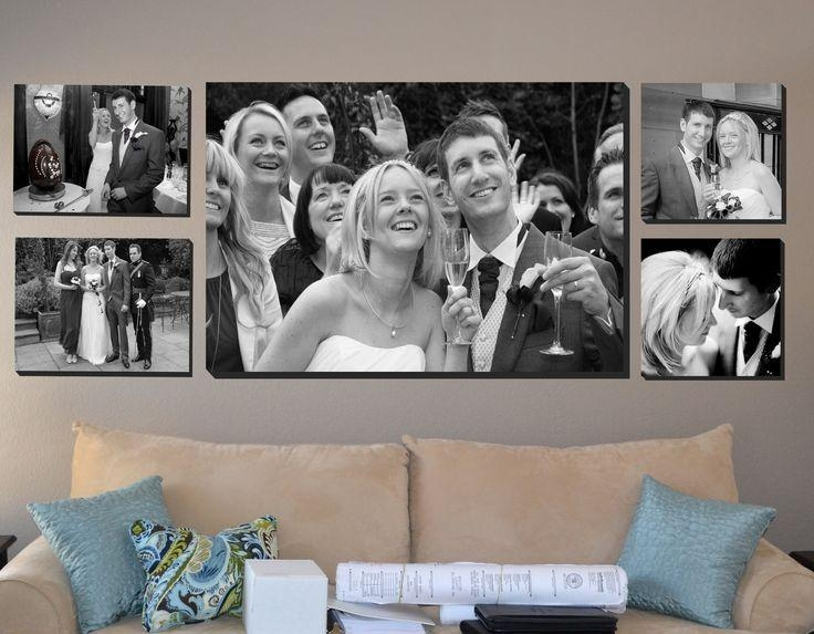 9 Best Wedding Canvas Prints Images On Pinterest | Photo Canvas Intended For Black And White Photography Canvas Wall Art (View 15 of 20)