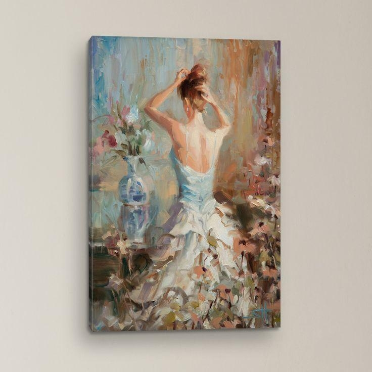 90 Best Bathroom Images On Pinterest | Painting Prints, Art On Pertaining To Canvas Wall Art At Wayfair (View 12 of 20)