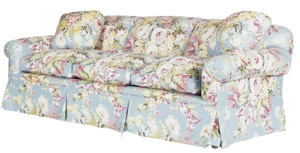 A Three Seat Floral Chintz Upholstered Sofa, | Modern | Sofa Intended For Chintz Sofas (Image 3 of 10)