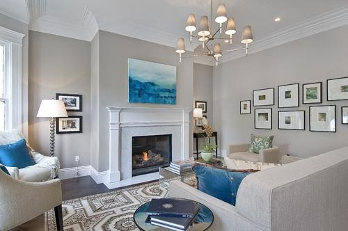 Abstract Art In Traditional Design – Provident Home Design Pertaining To Houzz Abstract Wall Art (Image 6 of 20)