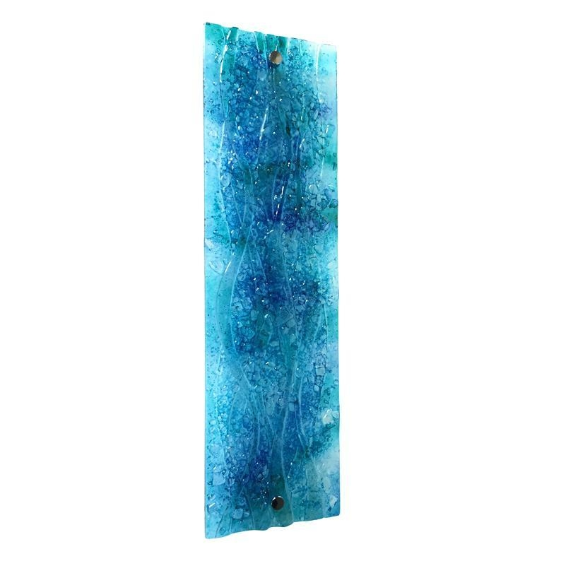 Abstract Glass Wall Art – Boyintransit Regarding Abstract Fused Glass Wall Art (Image 5 of 20)