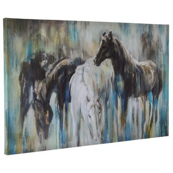 Abstract Horse Canvas Wall Decor | Hobby Lobby | 1287101 Pertaining To Hobby Lobby Abstract Wall Art (Image 1 of 20)