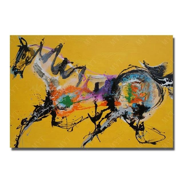 Abstract Horse Wall Art New Design Wall Pictures For Living Room In Abstract Horse Wall Art (Image 3 of 20)