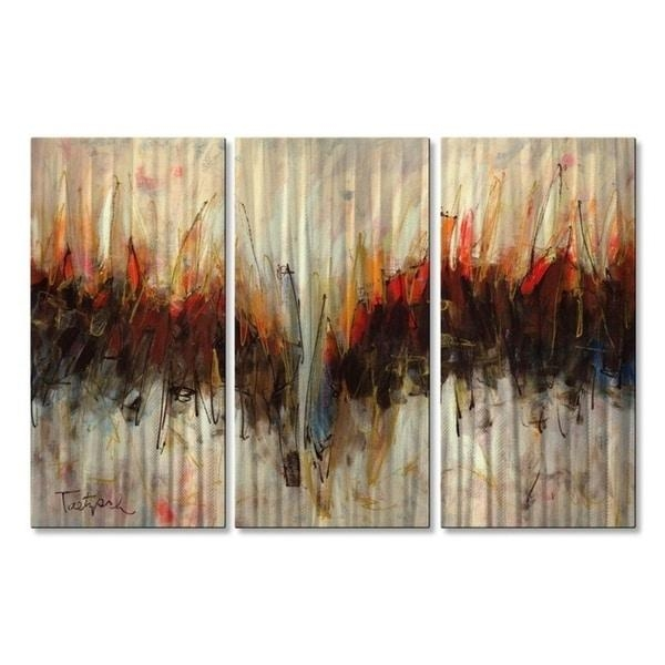 Abstract Metal Wall Art – Usa Intended For Kindred Abstract Metal Wall Art (Image 4 of 20)
