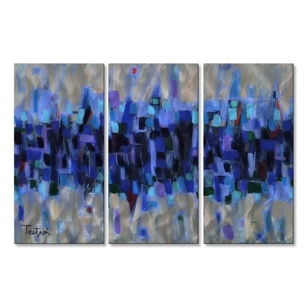 Abstract Metal Wall Art – Usa Within Kindred Abstract Metal Wall Art (View 18 of 20)
