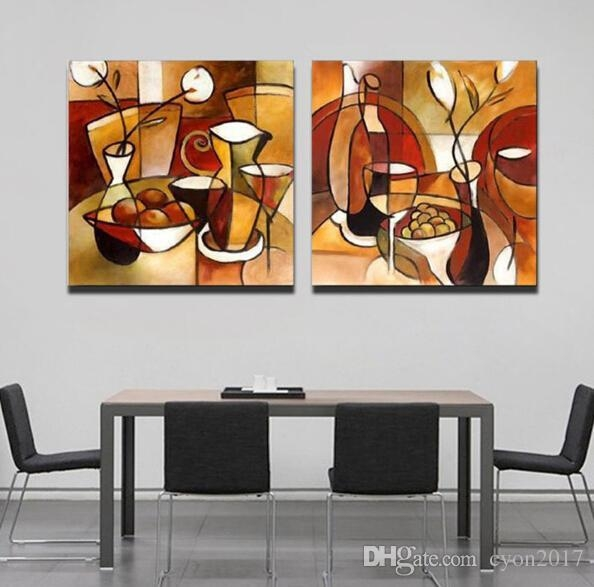 Abstract Kitchen Wall Art | Wall Art Ideas