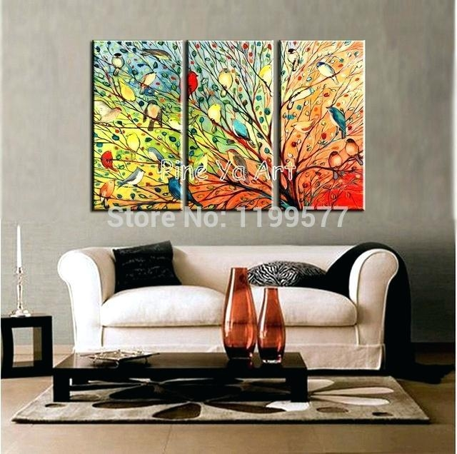 Abstract Wall Art For Living Room 3 Piece Abstract Modern Canvas In Abstract Wall Art Living Room (Image 8 of 20)