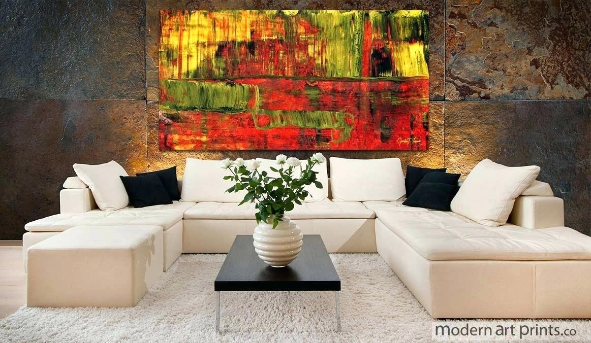 Abstract Wall Art For Living Room 3 Piece Abstract Modern Canvas Throughout Abstract Wall Art For Living Room (Image 8 of 20)