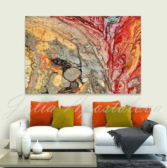 Abstract Wall Art For Living Room – Ironweb (Image 7 of 20)