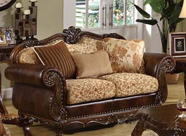 Acerito Traditional Sofa Ac 55 | Traditional Sofas With Regard To Traditional Sofas (Image 1 of 10)