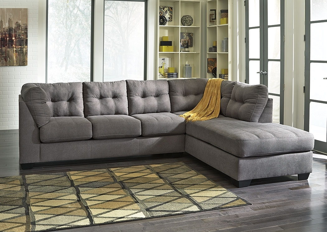 Actionwood Home Furniture – Salt Lake City, Ut Maier Charcoal Right Within Salt Lake City Sectional Sofas (Image 2 of 10)