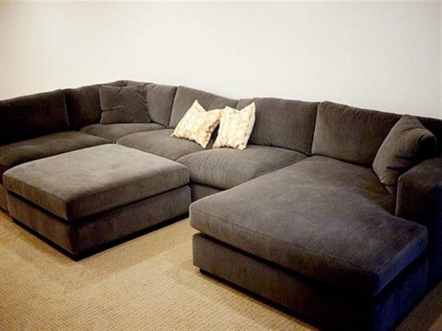 Add Comfort And Elegance To Your Home With Wide Sectional Sofas Intended For Sectional Sofas With Chaise (Image 1 of 10)