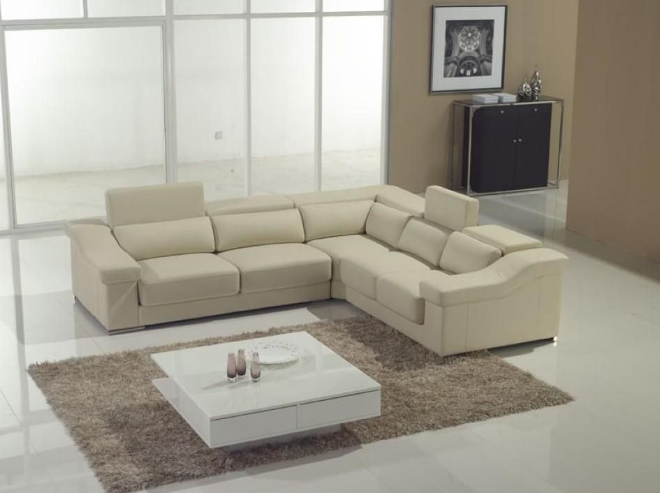Adjustable Advanced Genuine Leather Sectional Virginia Beach Throughout Virginia Beach Sectional Sofas (View 4 of 10)