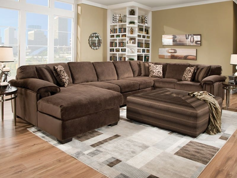 Adorable Deep Seat Couch Google Search Furniture Pinterest Of With Regard To Sectional Sofas With Oversized Ottoman (View 9 of 10)