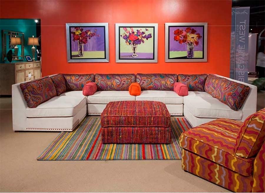 Aico Sacramento Sectional Modular Sofa | Aico Living Room Furniture With Regard To Sacramento Sectional Sofas (Image 1 of 10)