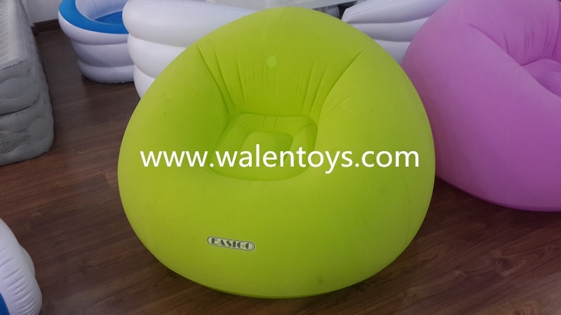 Air Lounge Sofa Bed,indoor Inflatable Sofa Chair,living Room Regarding Inflatable Sofas And Chairs (Image 2 of 10)
