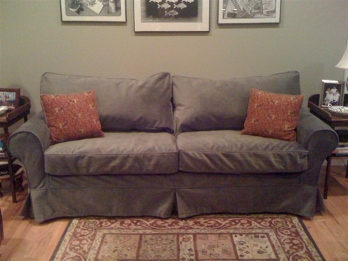 """Alexa 83"""" Sofa Intended For Mitchell Gold Sofas (Image 1 of 10)"""