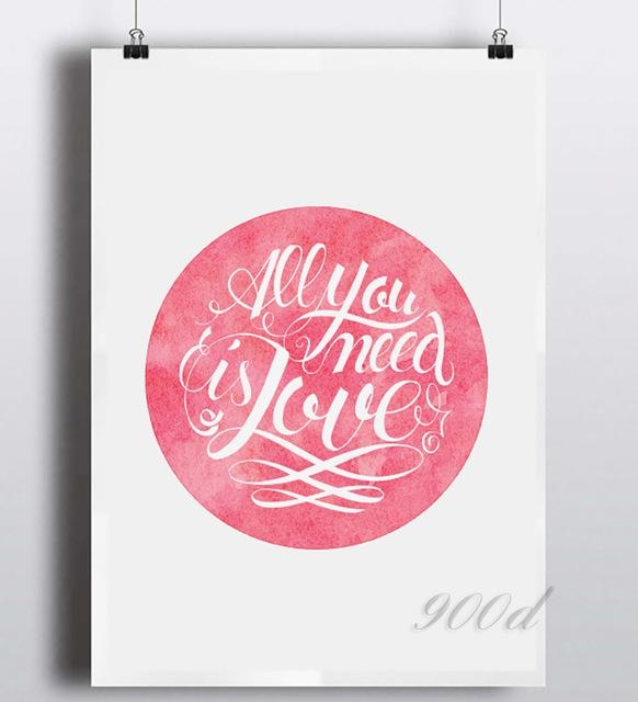 Homean Quotes: 20 Collection Of Love Quotes Canvas Wall Art