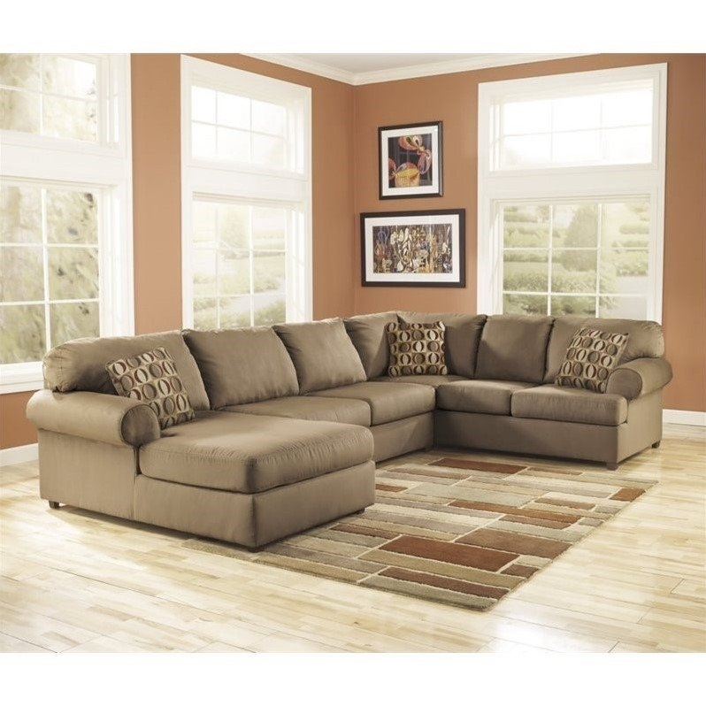 Alluring 3 Piece Sectional Sofa With 3 Piece Contemporary Sectional Pertaining To Sam Levitz Sectional Sofas (Image 3 of 10)