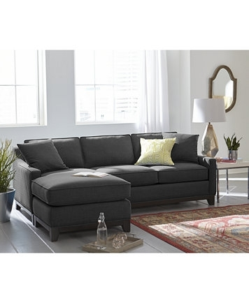 Alluring Keegan 90 2 Piece Fabric Sectional Sofa Furniture Macy S At In Sectional Sofas At Sam's Club (Image 4 of 10)