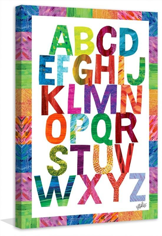Featured Image of Letters Canvas Wall Art