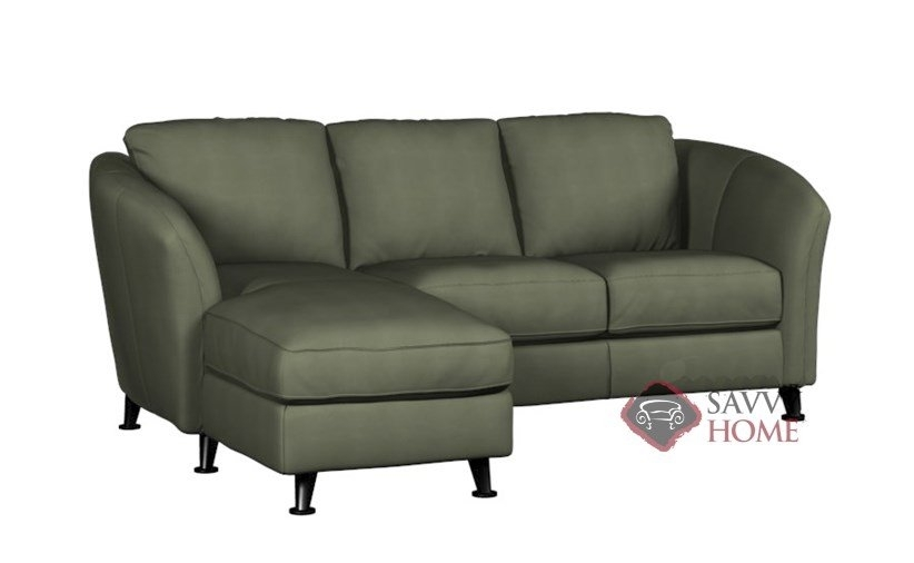 Alula Fabric Chaise Sectionalpalliser Is Fully Customizable Inside Angled Chaise Sofas (Image 1 of 10)