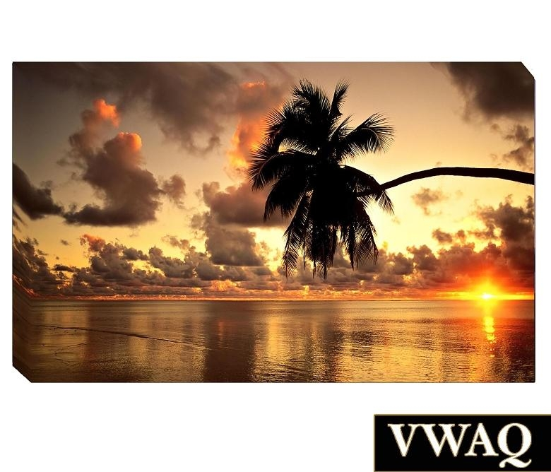Amazing 10+ Hawaii Wall Art Decorating Inspiration Of Compare With Hawaii Canvas Wall Art (Image 7 of 20)